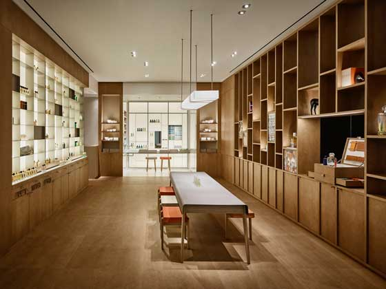 HERMÈS PARFUMERIE NEW YORK Rdai Architects
