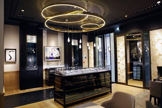 Piaget Milan boutique