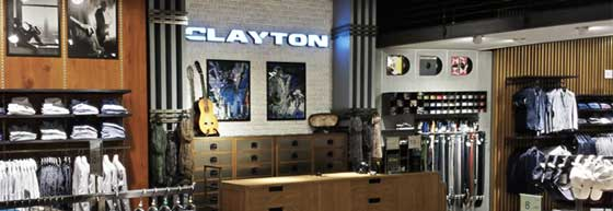 clayton flagship store milano