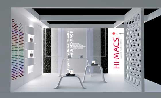 Retail Design Expo Hi Macs