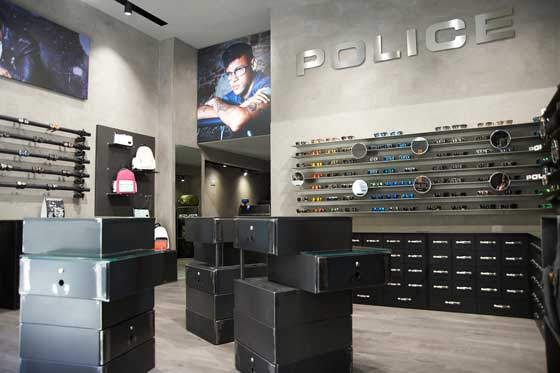 police milan store