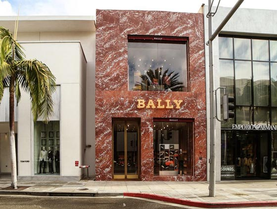 Bally flagship store Los Angeles