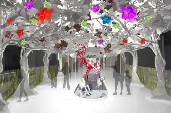 Gruppo Chalhoub concept store Level Kids