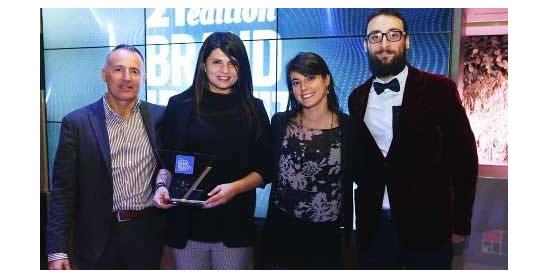 M&T vince – insieme a La Perla di Torino – il premio assoluto della 21° edizione di Brand Identity all'interno del Salon du Chocolat di Milano.