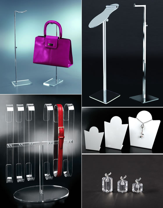 vetrina s p espositori ed accessori destinati a vetrine e negozi