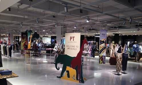 PT Pantaloni Torino temporary store