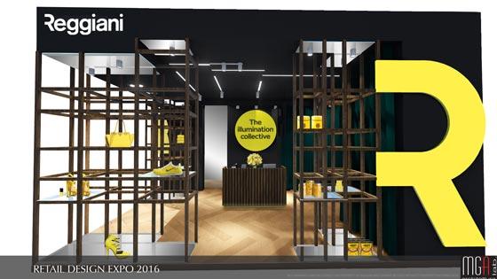 Reggiani Illuminazione Retail Design Expo