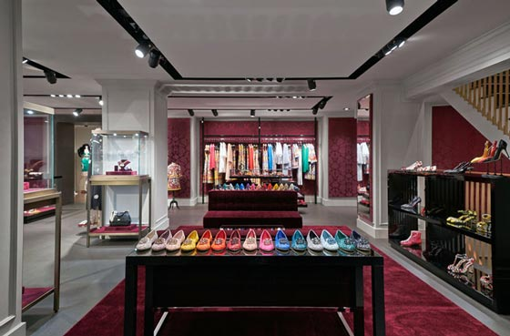 Dolce Gabbana boutique Zurigo