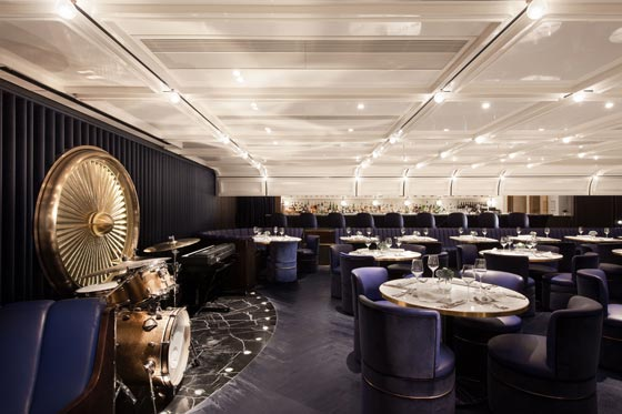 NC Design & Architecture Ltd. Progetta il Lounge bar Foxglove  di Hong Kong