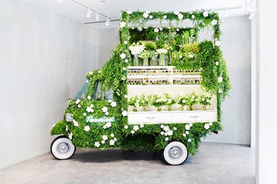 pop-up flower shop
