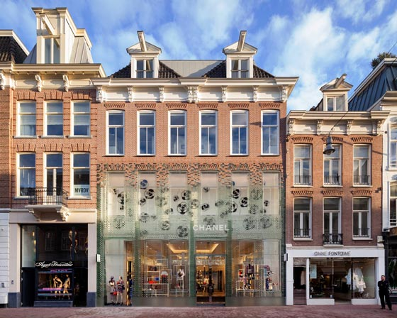 flagship store Chanel Amsterdam