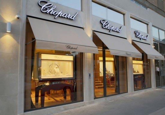 boutique chopard tel aviv israele
