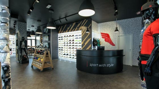 The Athlete's Foot negozio Firenze Italia franchising