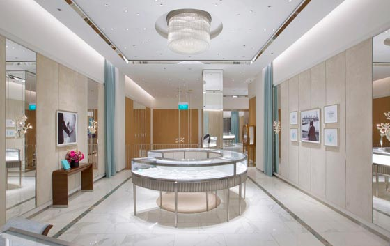 Tiffany & Co Singapore shopping mall ION Orchard