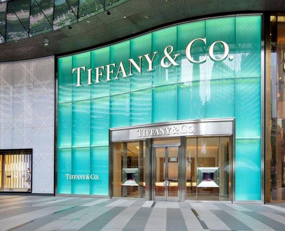 Tiffany co il negozio di singapore all interno dello for Piani di costruzione del negozio con alloggi