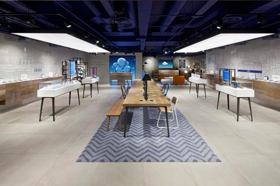 O2 concept store by Dalziel Pow