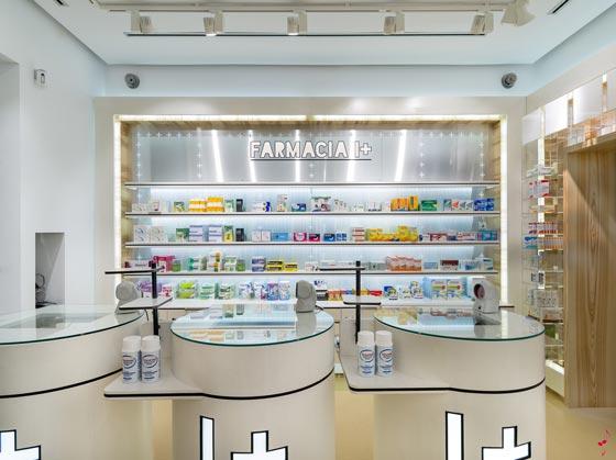 arredamento farmacia concept