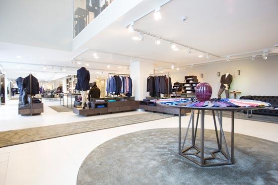 retail design AN shopfitting magazine GARDE ITALY
