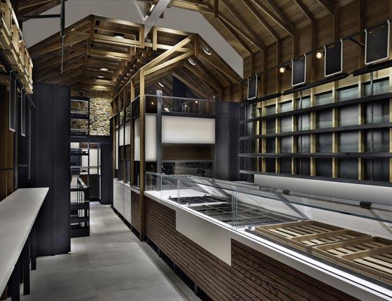 Klea Fine Bakery Salonicco project by Karalasos Operaday Architect