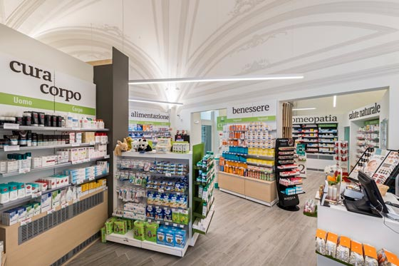 farmacie sfera concept cefla shopfitting