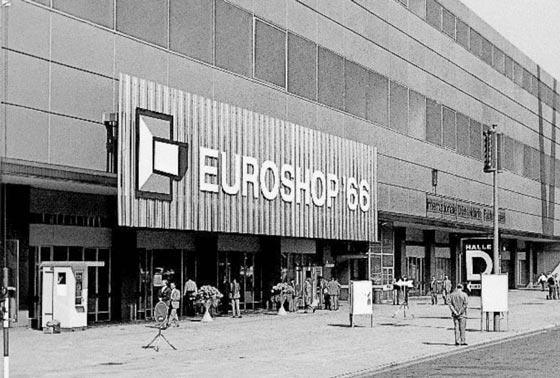 1966 prima edizione di EuroShop