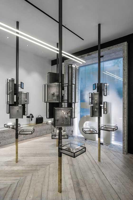Gioielleria Ileana Makri Atene, progetto Kois Associated Architect