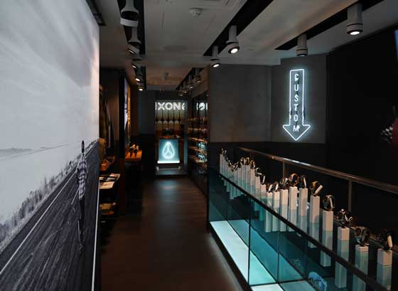 retail design nixon london store by Checkland Kindleysides
