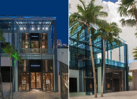 Patricia Urquiola Panerai boutique Miami Design District