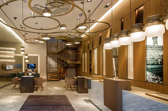 OFFICINE PANERAI FLAGSHIP STORE in the MIAMI DESIGN DISTRICT