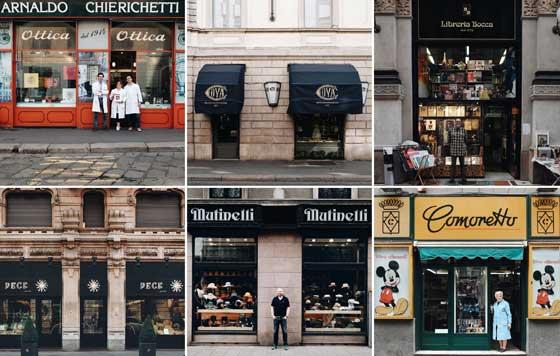 Pixartprinting t'insegno milano tour fotografico punti vendita negozi botteghe