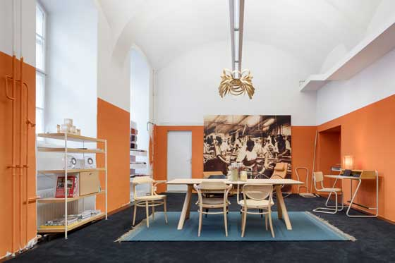 Thonet pop up café Vienna