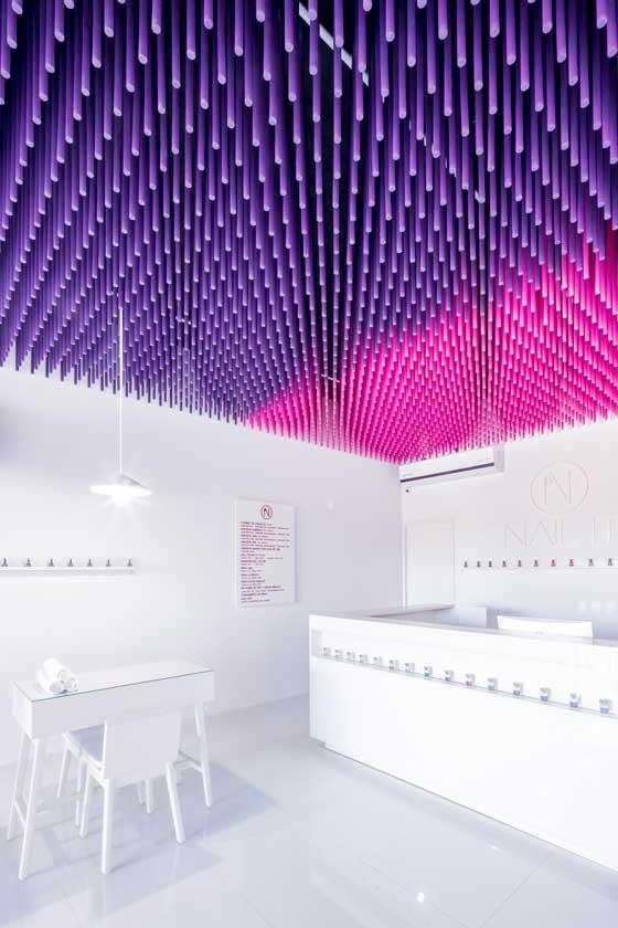 Lo spazio Nail It è stato progettato da Estudio Ala
